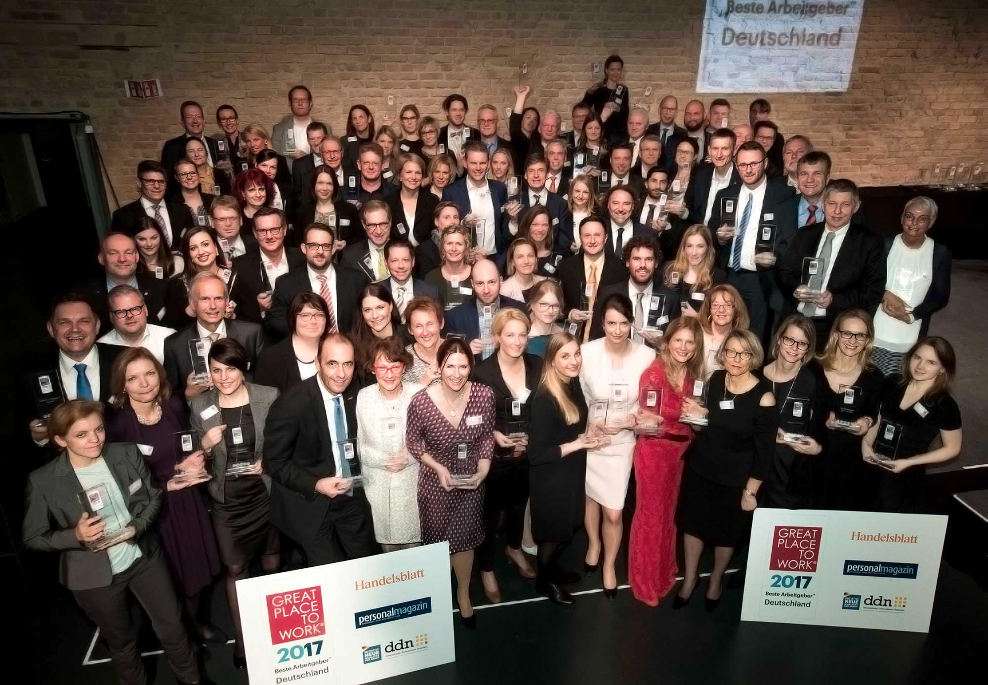 Great Place to Work 2017 – metafinanz ist ausgezeichnet!