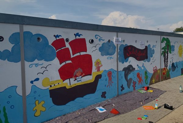 Kinderhaus Schatzinsel Wandbemalung