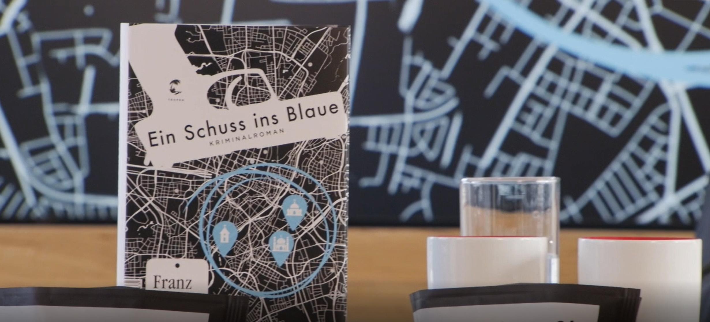 Kein Schuss ins Blaue: Virtuelle Premiere des metaKulturCafés mit dem Autor Franz Dobler