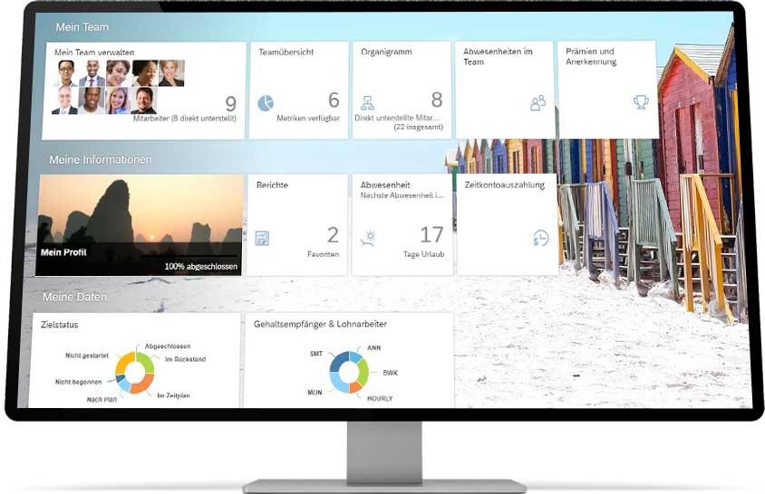 Screenview cloudbasierte HR Plattform