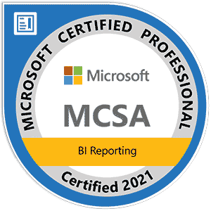 BI Microsoft Professional Zertifikat